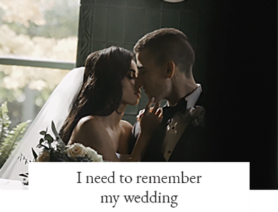 I need to remember my wedding
